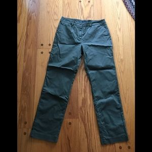 Jones New York Olive Green Career Pants Size 8